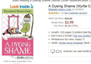 Dyeing Shame Reviews