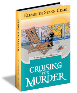 Cruising for Murder is the 10th Myrtle Clover mystery by Elizabeth Spann Craig