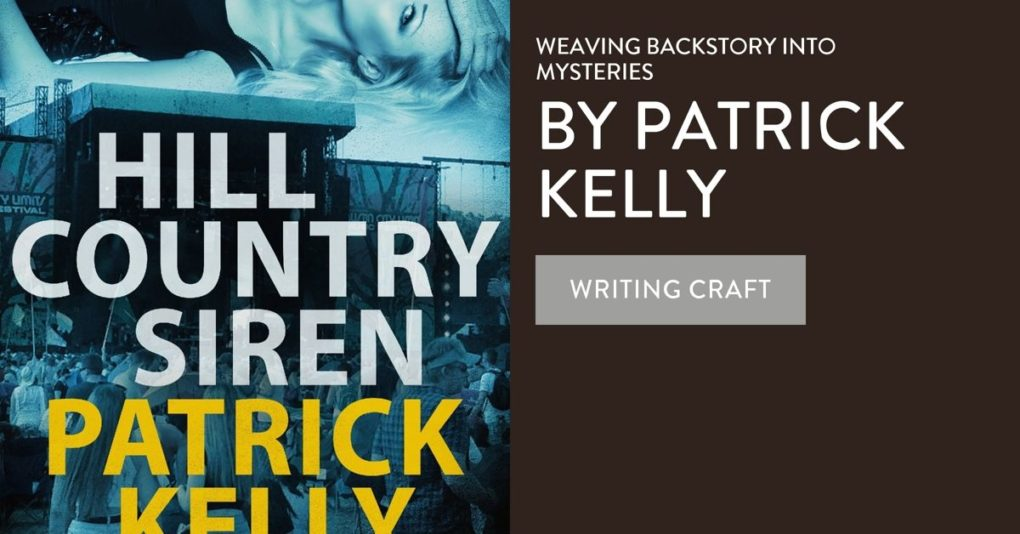 Hill Country Siren is a thriller from author Patrick Kelly.
