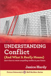 Cover of Janice Hardy's book, Understanding Conflict (and What it Really Means)