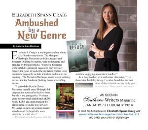 Elizabeth Spann Craig promo SW Jan 2016