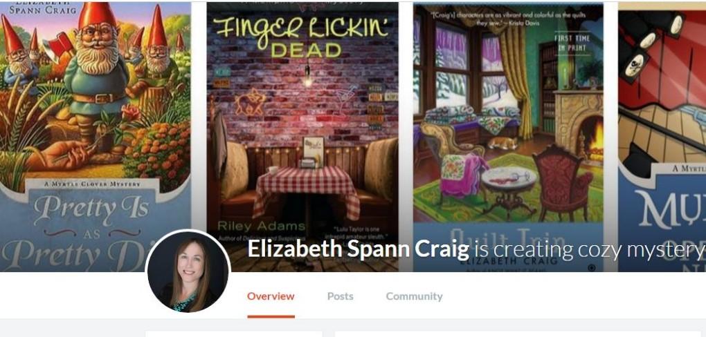 Elizabeth Spann Craig is on Patreon.