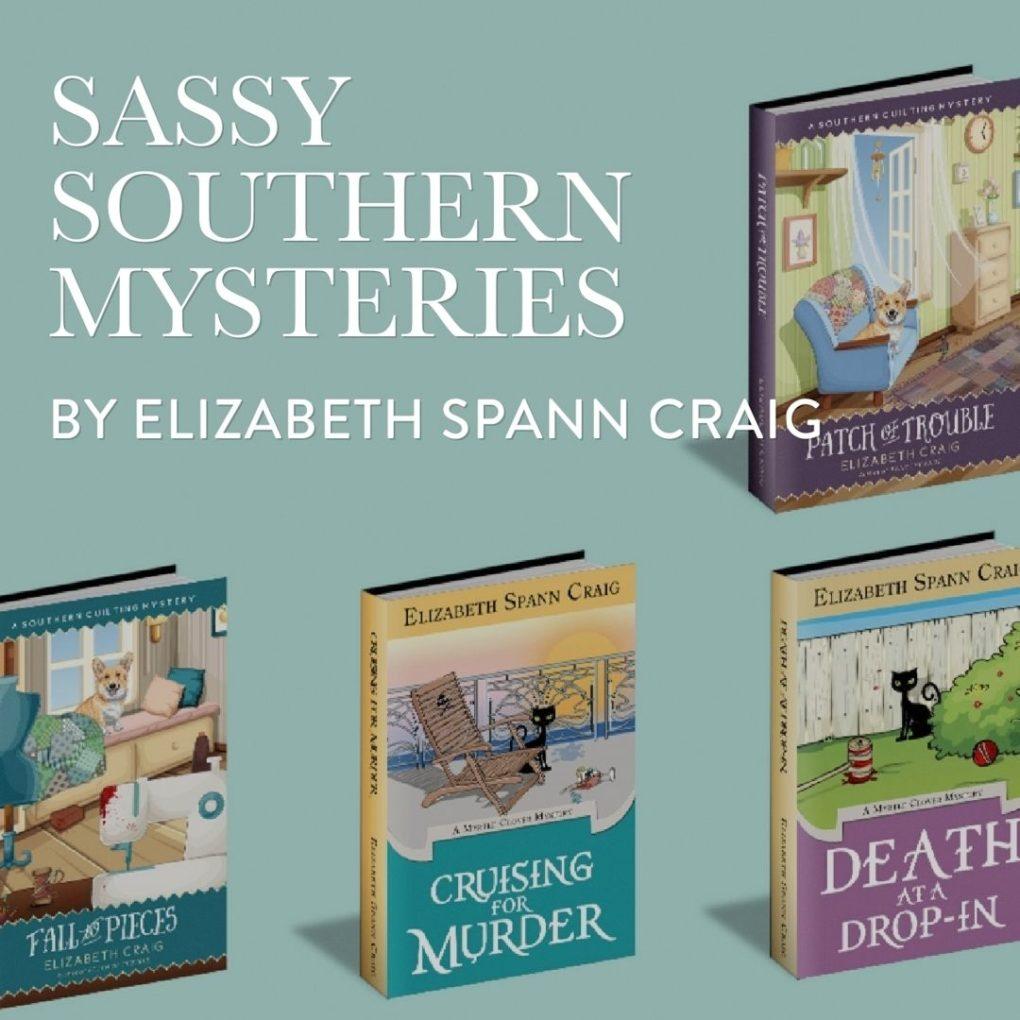 Cozy Mystery Author Elizabeth Spann Craig : southern quilting mysteries - Adamdwight.com