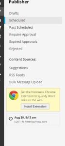 Hootsuite Bulk Message upload