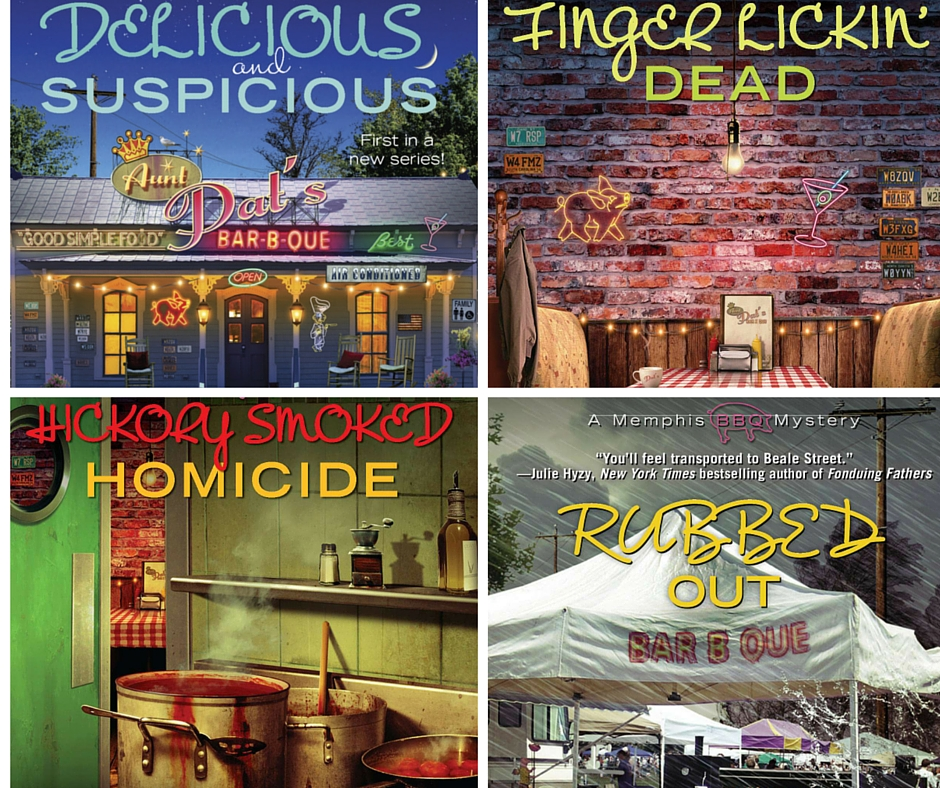 Publication Order of Memphis BBQ Mysteries Books